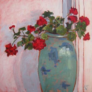 "STILL LIFE ""Geranium Pot"""