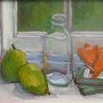 "STILL LIFE ""Pig on a Windowsill"""