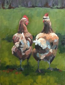 2020-strolling-chickens-painting